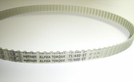 Azimuth Timing Belt 10TS/480 F/ S600/60 GX