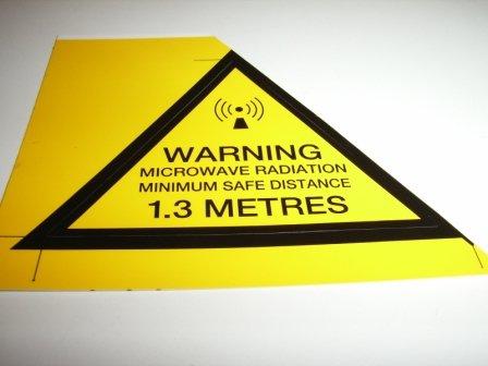Kit Warning Label  / F33
