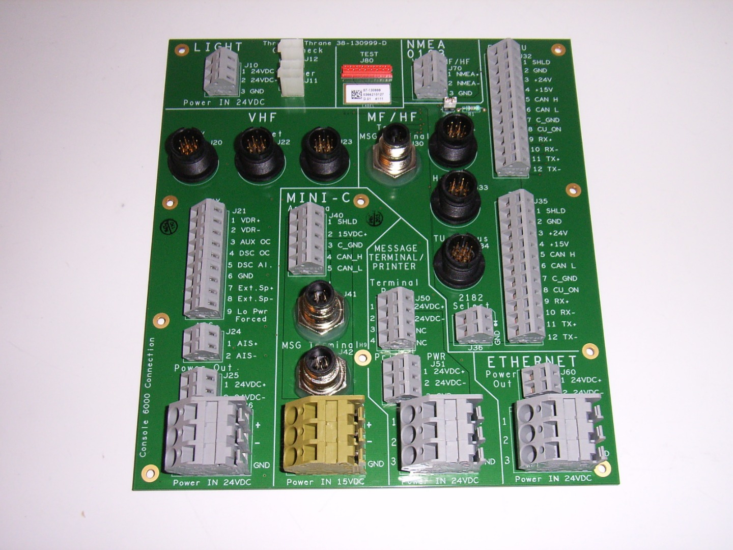 Connection Board F/ Console