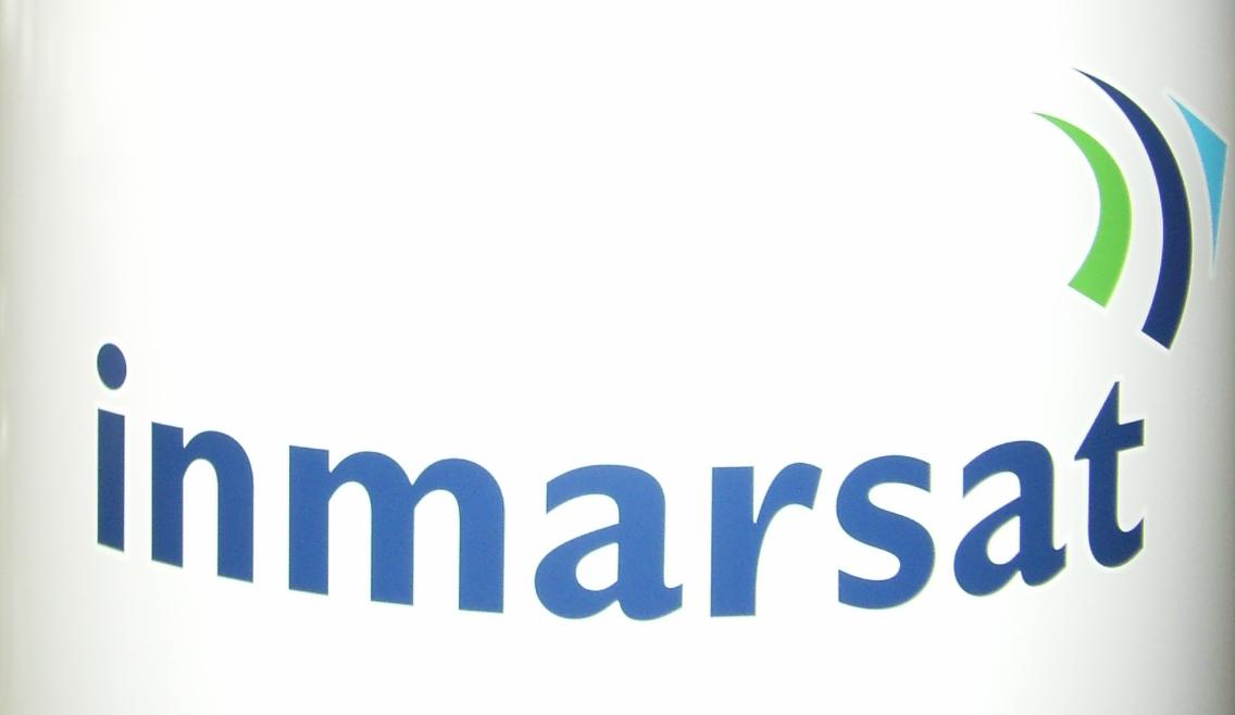 Radome Top w/Inmarsat & SAILOR Logo F/S900B