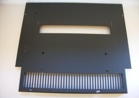 Top Plate F/ Printer section Black/Grey