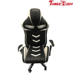 How Much Does A Gaming Chair Weight Reupholster Kitchen Commercial Black And White Light Racing Seat Desk