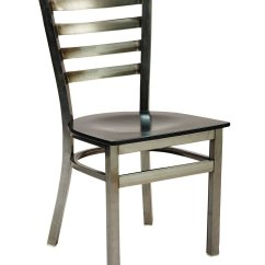 Metal Restaurant Chairs Wedding Chair Covers Cotton G Anda Seating 513d Ladder Back