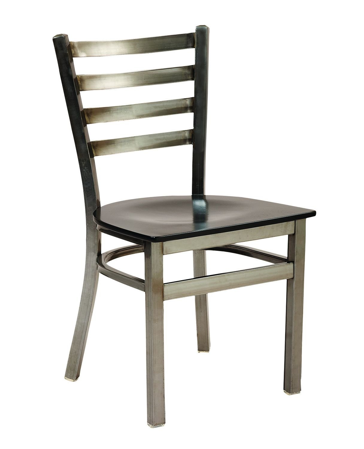 cafe chairs metal french desk chair g anda seating 513d ladder back restaurant
