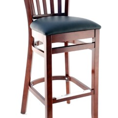 Wooden Restaurant Chairs With Arms Ergonomic Mesh Office Chair Premium Vertical Slat Wood Bar Stool Seating Masters Us Made