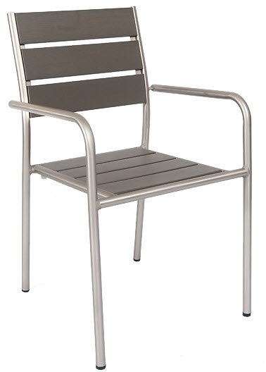 chair glides for metal chairs mattress aluminum patio arm with grey plastic teak