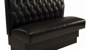 Button Tufted Back Dining Booth Seating Masters