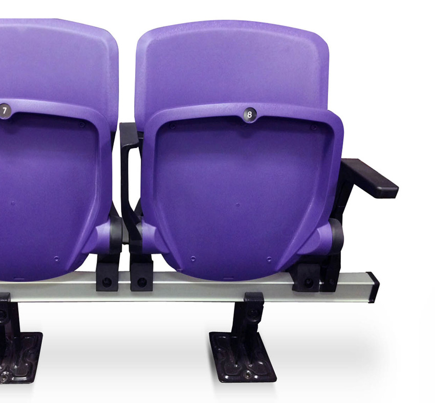 Eclipse TipUp Seating with Armrest Option  Seating Solutions
