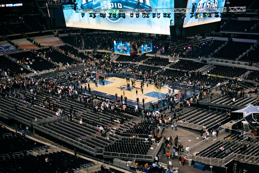 NBA All Star Game ATT Stadium  Seating Solutions
