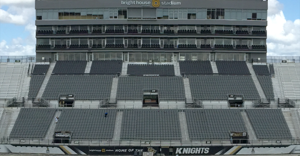 steel chair gold covers ebay shop ucf - stadium renovation seating solutions