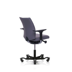 Brown Office Chair Without Arms Chairs That Recline 5400 Fully Upholstered With Floating Tilt - Seating Worldseating World