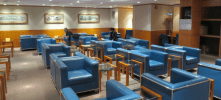 Korean Air Business Class Lounge Hong Kong Review