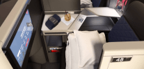 Delta One A350 Business Class Suites