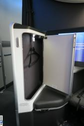 The first class closet -- updated design for British Airways