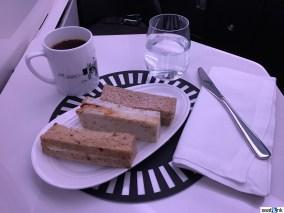 Pre-arrival tea service