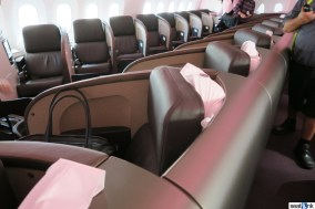 Seats G and K in Upper Class on the right side of the 787