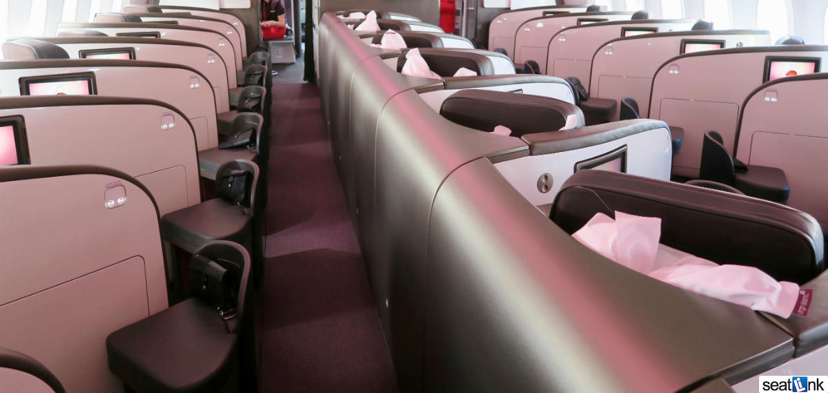 Virgin Atlantic Upper Class Cabin