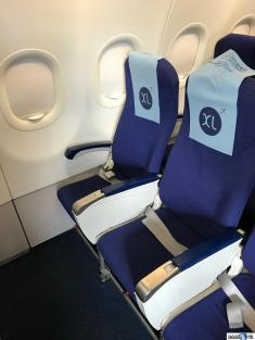 XL seats also in row 1 on IndiGo (but less legroom than 12 & 13)
