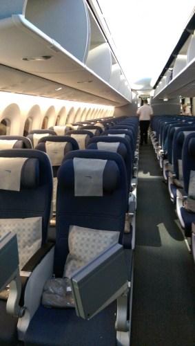 BA 787-9 Economy Cabin