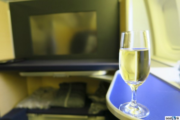 Champagne PDB in ANA first