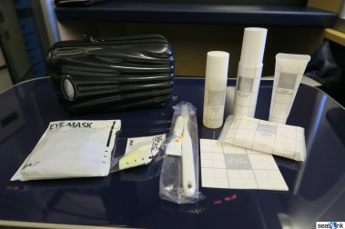 ANA First Class amenity kit