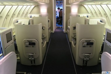British Airways Business Class Review 747-400 Upper Deck 01
