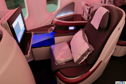Qatar Airways 787 Business Class