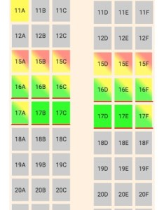 Alaska airlines boeing  seat map also seating chart updated november rh seatlink