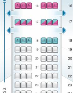 Seat map for delta air lines boeing  also seatmaestro rh