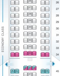 Seat map for el al israel airlines boeing  er pax also seatmaestro rh
