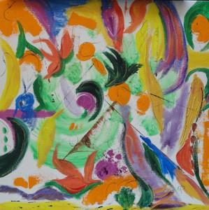 songbird in the magnolia tree