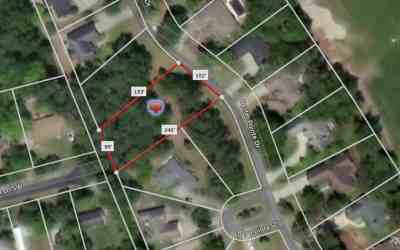 Sea Trail Plantation Large Building Lot for Sale