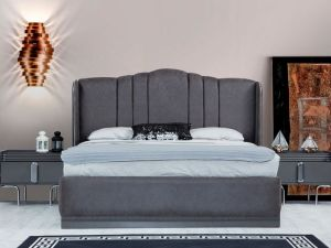 Bed luxe Storage Neon