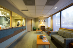 Enjoy spacious room in our reception area. While your guest wait, they can access our complimentary guess Wifi. Our staff can provide you with any necessary amenities to make your visit comfortable.