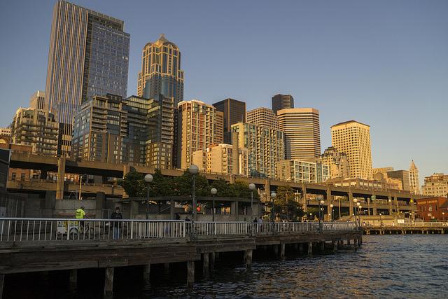 Waterfront Park Parks Seattle Gov
