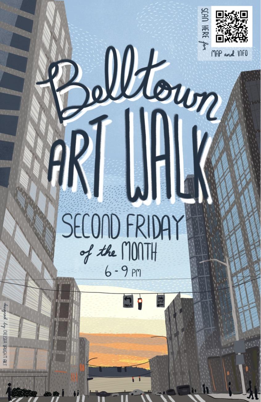 Seattle Belltown Art Walk - every 2nd Friday