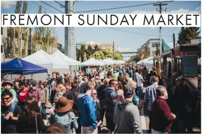 Fremont Sunday Market in Seattle