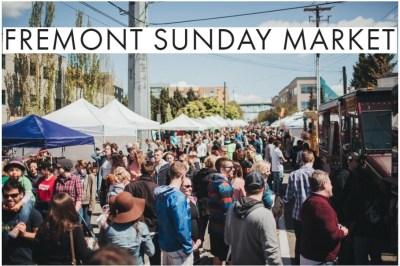 Fremont Sunday Market in Seattle