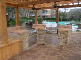 Outdoor Kitchens and Grills   Seattle Brickmaster