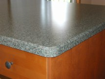 Rounded Edge Laminate Countertop