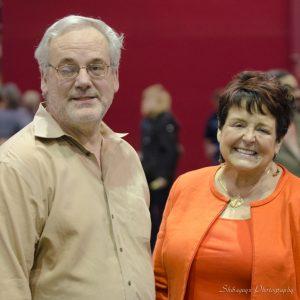 Dr. Vandra Huber and her husband Michael Krolewski