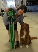Robyn Haskin and Cooper