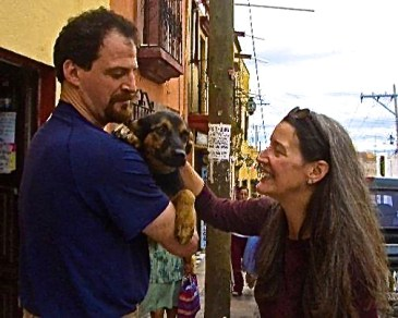 We meet Miguel in Mexico. November 2006. Photo from Seattle DogSpot.