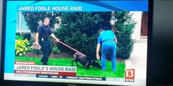 Today show features Seattle Police Department's electronics sniffing dog