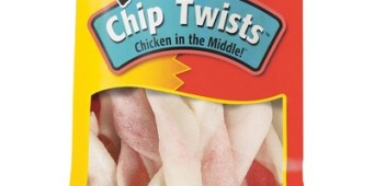 Recall Issued for Dingo Chip Twists Dog Chew Treats
