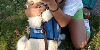 Comfort Dogs Visit Roseburg, OR to Help Community Recover after Shootings