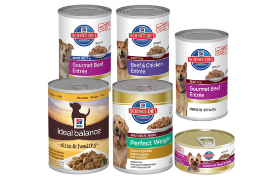 These are the products Hill's voluntarily withdrew with no explanation. Image from Petful.com.