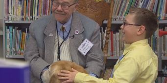 Therapy dog helps Snohomish boy heal after his mother's death