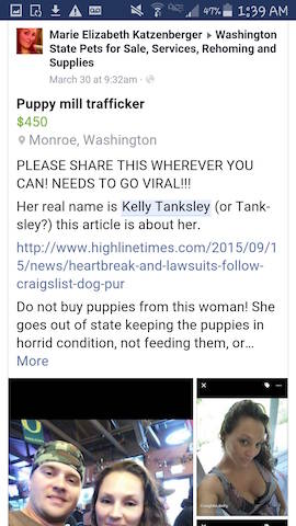 Another Puppy Bought on Craigslist from Shady Couple Dies of
