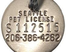 King County using data from grocery store discount cards to identify pet license scofflaws